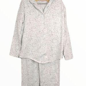 La Vie en Rose 100% Cotton Star Pajama set